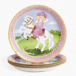 Cowgirl Plates