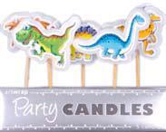Candles Dinosaur