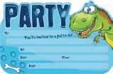Little Dino Invitations & Envelopes