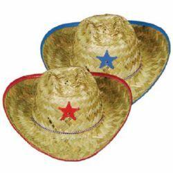 Cowboy/Cowgirl Straw Hat