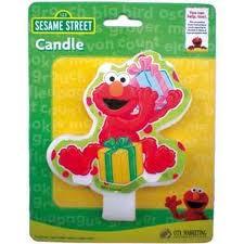 Elmo Candle