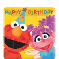 Sesame Street 1st Dessert Plates (value pack 18)