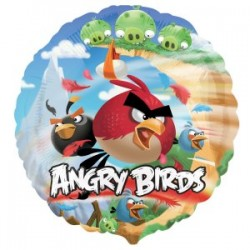 Angry Birds Foil Balloon