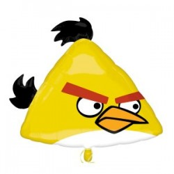 Angry Birds Yellow Bird Supershape Foil Balloon