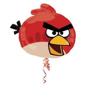 Angry Birds Red Bird Supershape Foil Balloon
