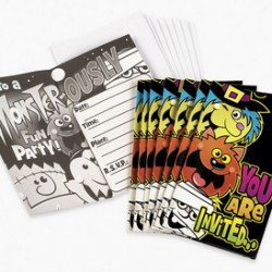 Boo Bunch Invitations & Envelopes