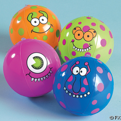 Mini Monster Beach Ball