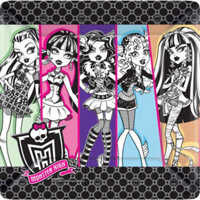 Monster High Square Plates