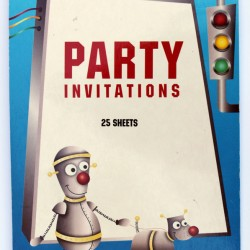 Robot Invitation Pad