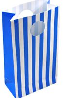 Blue Stripe Loot Bag