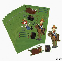Make a Rodeo Sticker Sheet