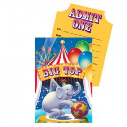 Circus Invitations & Envelopes