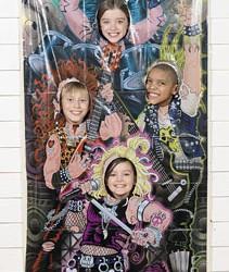 Rockstar Photo Door Banner