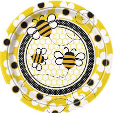 Busy Bee Plates