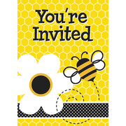 Busy Bee Invitations & Envelopes