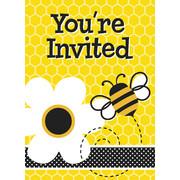 Busy Bee Invitations & Envelopes
