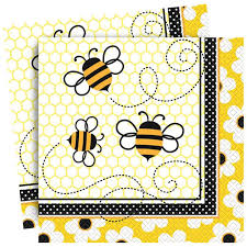 Busy Bee Napkins