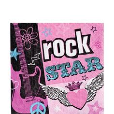 Rockstar Chick Napkins