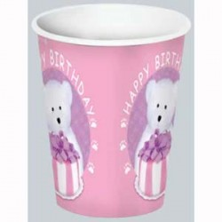 Boyd's Bear 1st Birthday Girl Cups