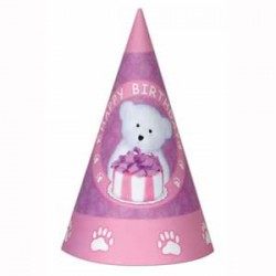 Boyd's Bear 1st Birthday Girl Hats