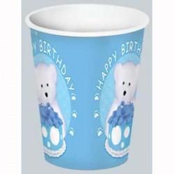Boyd's Bear 1st Birthday Boy Cups