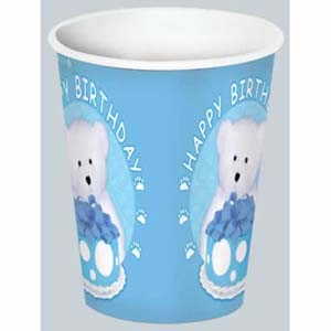 Boyd's Bear 1st Birthday Boy Cups