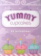 Cupcake Invitation Pad