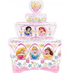 Disney Princess Cake Super Shape Foil Balloon