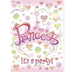 Princess Diva Invitations & Envelopes