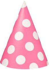 Polka Dot Pink Hats