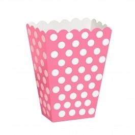 Polka Dot Pink Treat Box