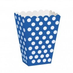 Polka Dot Blue Treat Boxes