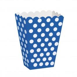 Polka Dot Blue Treat Boxes