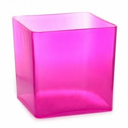 Acrylic Candy Jar Hot Pink