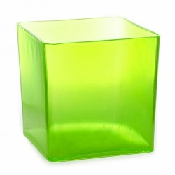 Acrylic Candy Jar Lime Green