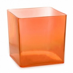 Acrylic Candy Jar Orange