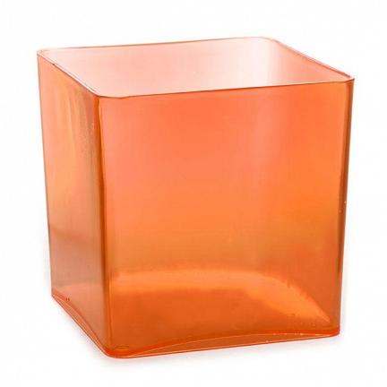 Acrylic Candy Jar Orange