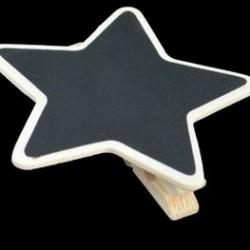 ChalkBoard Star Peg
