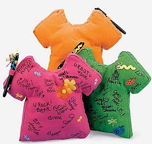 Autograph T-Shirt Pillow