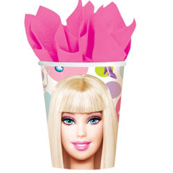 Barbie All Doll' d Up Cups