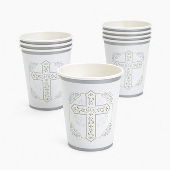 Religious Cross Cups