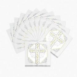 Religious Cross Napkins