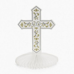 Religious Cross Table Centre