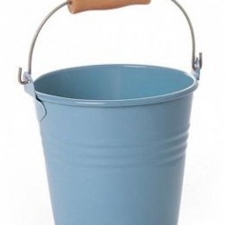 Tin Party Bucket Mini Blue