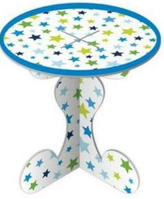 Cupcake Stands 1 Tier Blue Stars