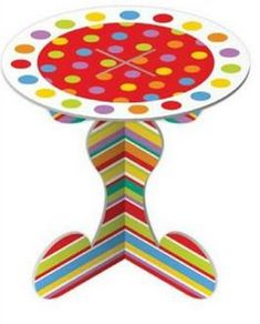 Cupcake Stands 1 Tier Rainbow