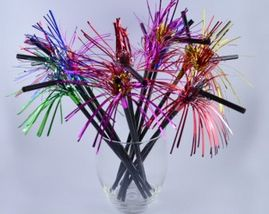 Straws Celebration Metallic