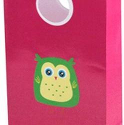 Paper Loot Bag Pink  Alice Owl