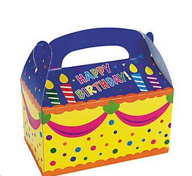 Happy Birthday Treat Box