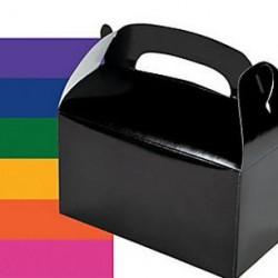Coloured Treat Boxes
